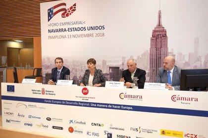 Más de cien empresas profundizan en su conocimiento del mercado estadounidense en el Foro Navarra-Estados Unidos