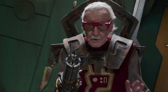 Stan Lee en Thor: Ragnarok