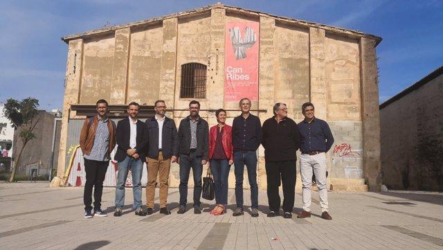 Presentación del proyecto de rehabilitación de Can Ribes
