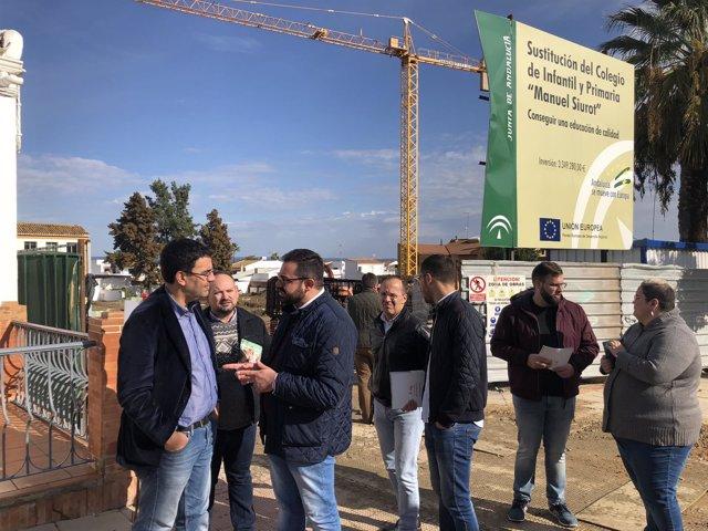 El cabeza de lista por el PSOE de Huelva al Parlamento andaluz, Mario Jiménez.