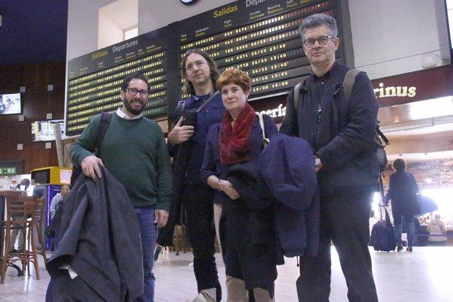 Comitiva que pedirá al Europarlamento fiscalizar ayudas para deslindar caminos