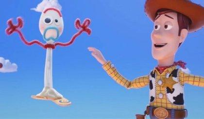 Así es Forky, el nuevo juguete de Toy Story 4