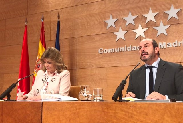 El vicepresidente de la Comunidad, Pedro Rollán
