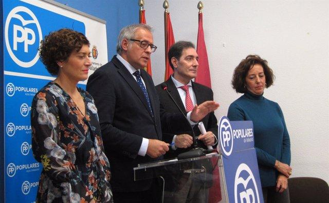 Rueda de prensa del Grupo Municipal Popular. 13-11-2018