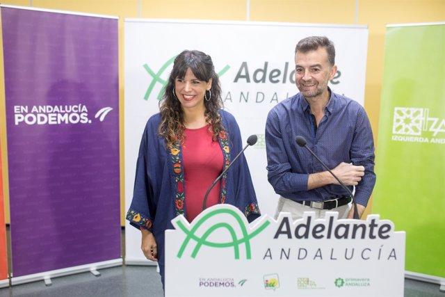 Teresa Rodríguez Y Antonio Maíllo, Líderes De Adelante Andalucía