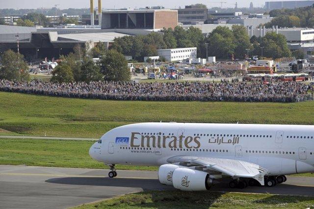 A380 de Emirates.