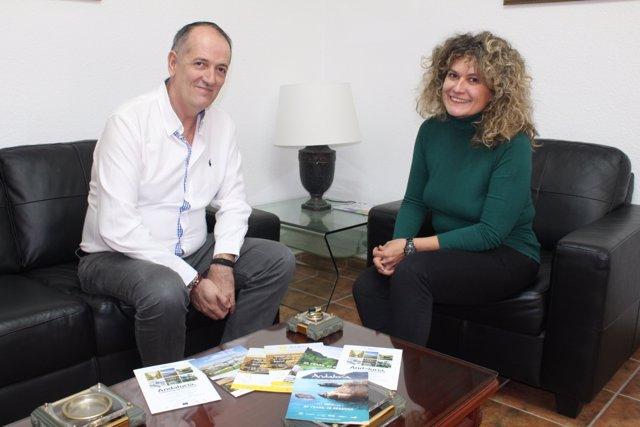 Reunión trabajo Mancomunidad con Andalucía film comisiion