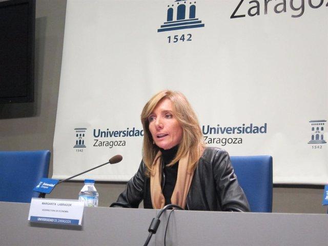 Vicerrectora de Economía de la Universidad de Zaragoza, Margarita Labrador