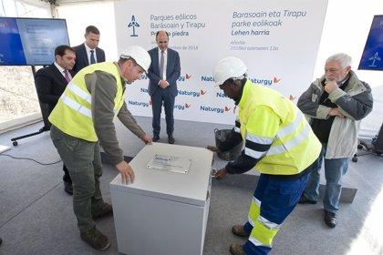 Naturgy invertirá 45 millones en la construcción de los parques eólicos Barásoain y Tirapu