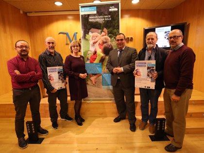La Diputación colabora con la exposición compuesta por 63 obras de 38 fotógrafos a favor de Aldeas Infantiles SOS