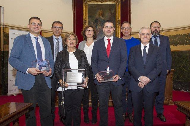 Ganadores De Los 2º Premios AELMHU