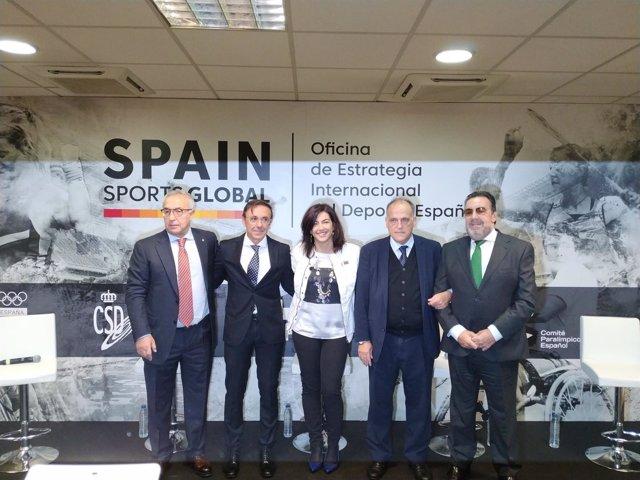 Presentación de Spain Sports Global