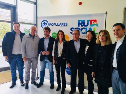 PP de Sevilla entrega sus Premios Ruta Social a Aspanri, Crysallis, Son Nuestros Hijos y a 'La Muy'