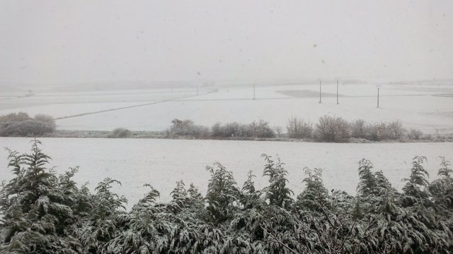 Imagen de Archivo. Nieve en Álava