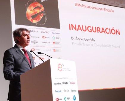 """Garrido apuesta por la Comunidad de Madrid como """"marca regional, española y europea"""""""