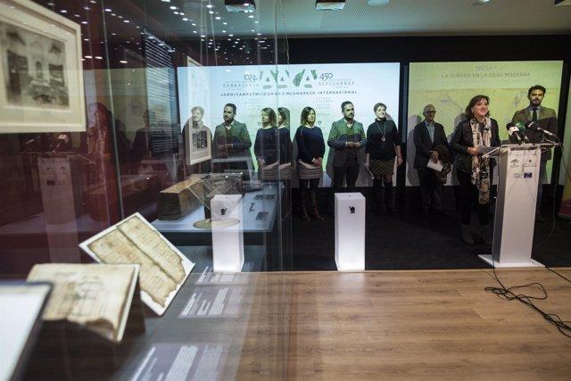 Presentación del congreso 'Recordar la guerra, construir la paz'