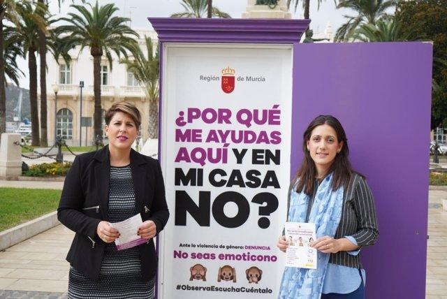 Arroyo presenta una campaña de sensibilización contra violencia género