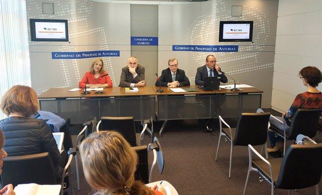 Presentación del  Plan de Asturias de Salud y Medio Ambiente