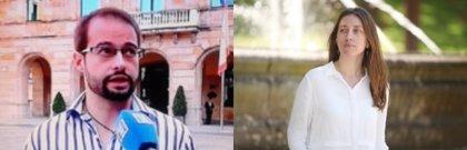 Héctor Gómez y Lorena Gil compiten en las primarias de Podemos en Asturias