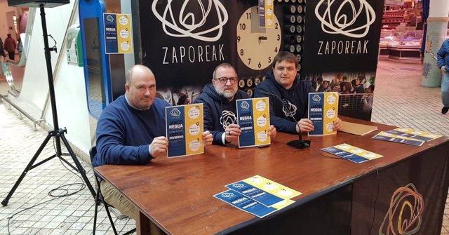 Rueda de prensa de Zaporeak.