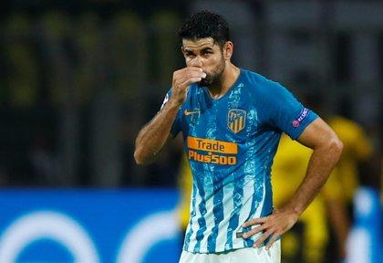Diego Costa sufre un traumatismo en el pie