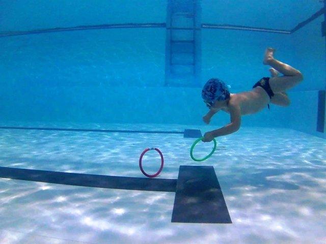 Cursos infantiles de natación del IME