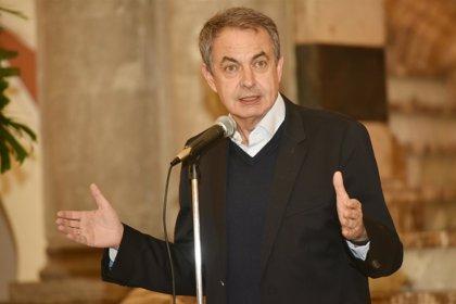 Zapatero participa en Valencia de Alcántara (Cáceres) en unas jornadas del PSOE sobre Memoria Histórica