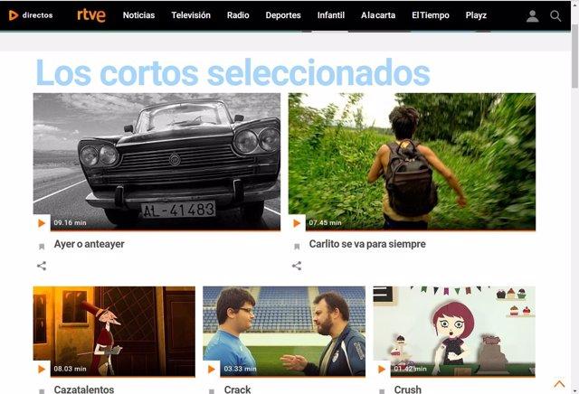 El mejor cortometraje iberoamericano de Fical se puede votar en la web de RTVE.