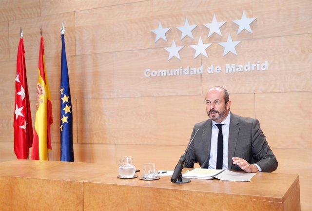 El vicepresidente del Gobierno, Pedro Rollán