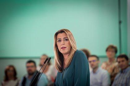 """Susana Díaz: """"Ya sabíamos que Andalucía le importa muy poco a Casado, pero que lo diga es una falta de respeto"""""""