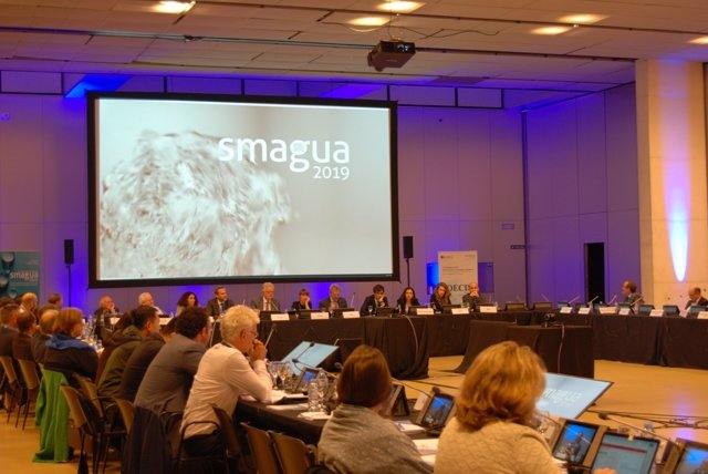 Presentación de SMAGUA en estas jornadas de la OCDE en Zaragoza