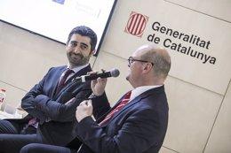 El conseller Puigneró firma un acuerdo de la CE en el Smart City Expo
