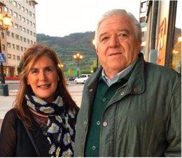 Carmen Villaverde y Rodolfo Espina
