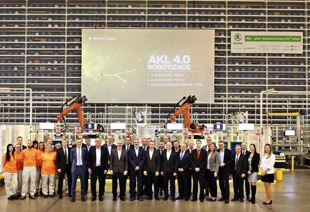 Nuevo almacén automático en Mladá Boleslav (República Checa)