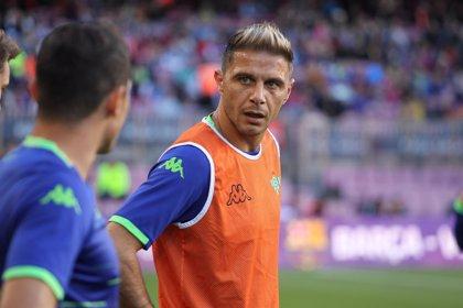"""Joaquín: """"Me gustaría que Setién estuviera muchos años en el Betis, me ha hecho mejor jugador"""""""