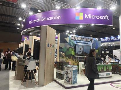 Microsoft pone a disposición de los visitantes de SIMO EDUCACIÓN 2018 una gran variedad de productos innovadores