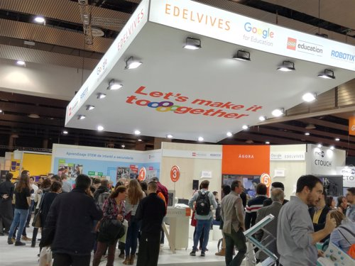 Estand Dell EMC y Edelvives en SIMO Educación 2018