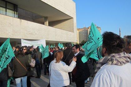 Sanitarios de áreas preventivas protestan por su discriminados frente a asistenciales