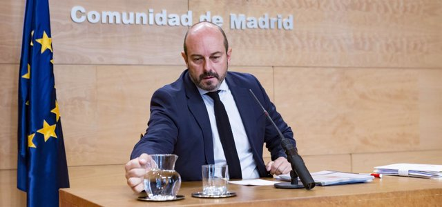 El vicepresidente del Gobierno regional, Pedro Rollán