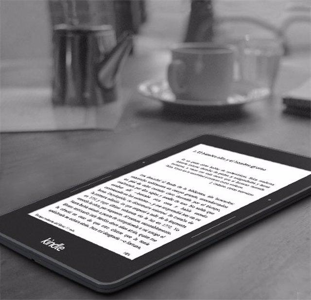 Kindle de Amazon (archivo)