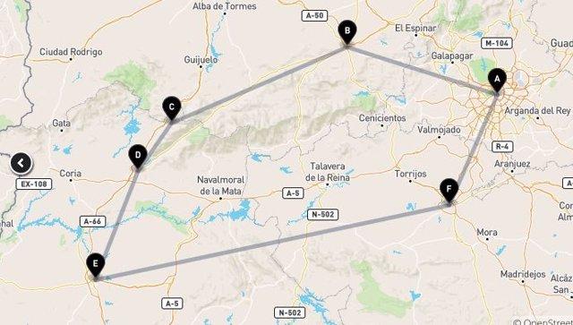 Ruta por las juderías del centro de la península ibérica