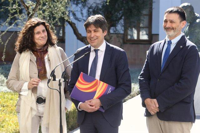 José Rosiñol, presidente de Sociedad Civil Catalana