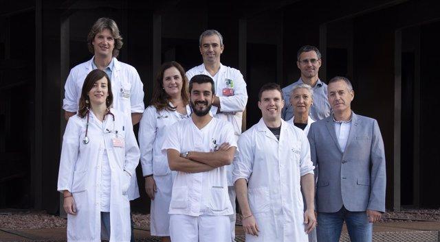 """Los autores del estudio publicado en la revista """"JAMA Internal Medicine""""."""