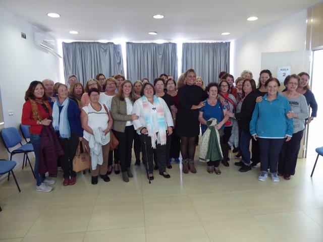 La presidenta de la Diputación de Cádiz, Irene García, visita Afripe