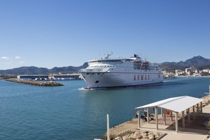 Trasmediterránea estrena ferry de Gandia a Ibiza y Palma y ofrecerá uno de alta velocidad a partir de verano
