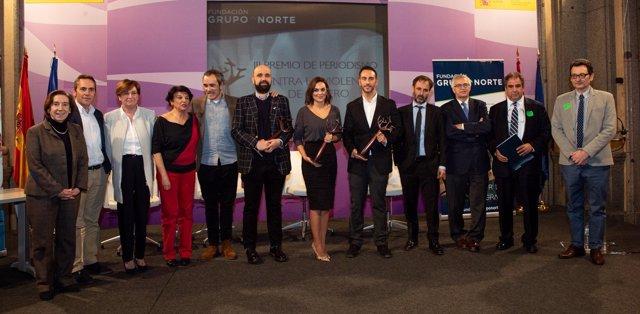 Clausura de los Premios de Periodismo Fund. Grupo Norte.