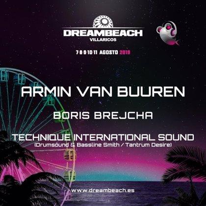 Armin van Buuren, primer confirmado para el Dreambeach Villaricos 2019