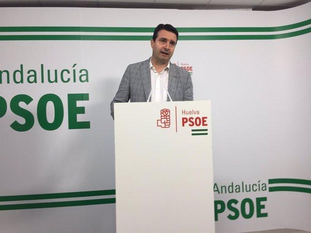 El senador socialista por Huelva Amaro Huelva.