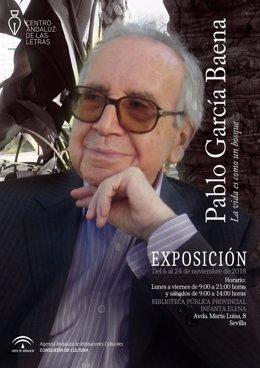 La exposición sobre Pablo García Baena llega a Sevilla