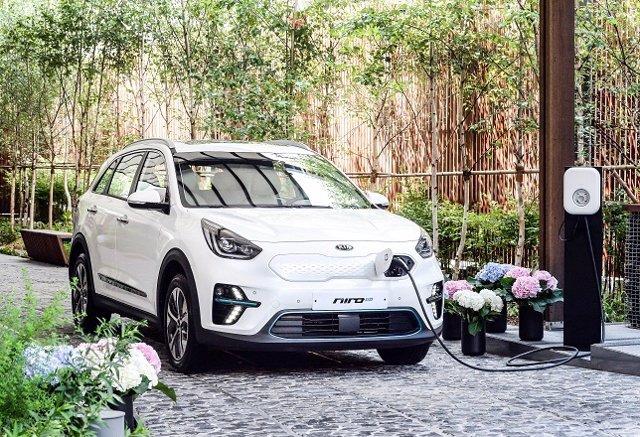 Nuevo Niro 100% eléctrico/ recurso coche eléctrico/ vehículo eléctrico